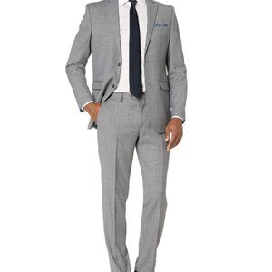 Other - Men's Slim Fit, 2pc Suit with Finished Bottom Hem